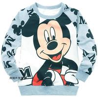 Cartoon Baby Girls Boys Kids Long Sleeve Blouses Tops Shirt Hoodie Free Shipping
