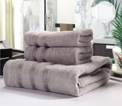 2015 New Personality Best 1*Bath Towel+2*Hand Towels Set Cotton High Quality 6 Colours Towels(China (Mainland))