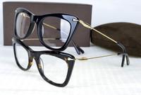 brand optical cat eye designer prescription eyeglasses women diamond luxury myopia  full rim frame eyewear spectacle frame  5329