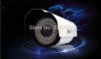 2pcs/lot 1300TVL HD waterproof Outdoor indoor camera 36pcs led lights 25M night vision 3.6mm/ 6mm/8mm optional