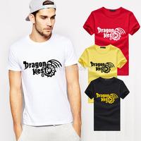 Hot Sale Dragon Nest T Shirts Men Cotton O Neck Man T-Shirt Short Sleeve Mens tshirt Euro Size Tops Tee Shirt Free Shipping