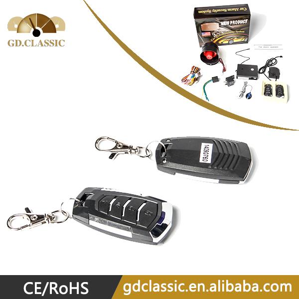 Free shipping one way car alarm remote, keyless entry remote control(China (Mainland))