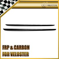 For Hyundai Veloster Turbo Or Non-turbo OEM Style Carbon Fiber Side Skirt Panel Cover 2pcs