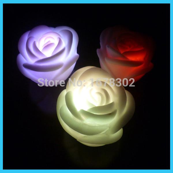 wedding souvenir CR2032 ,battery powered led China rose light,colorful(China (Mainland))