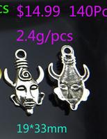 Free shiping!!!Wholes 10pcs hero heads shape alloy Pendant jewelry fashion charms T3169-1