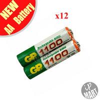 Original GP 1100mah AAA Battery  1.2V Ni-MH Rechargeable Battery for toy /led flashlight 12pcs/lot