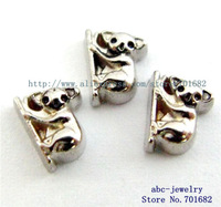 FC639 Mix Min order 10$ 10pcs wholesales Koala floating charms for living locket as families friends gift