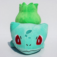 50pcs/lot EMS 9.5inch 24cm Pokemon plush Toy Bulbasaur With Tag Soft Dolls best Gift For pokemon fans Free Shipping