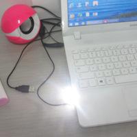 2015 New Mini USB Light Camping Night Mobile USB LED Lamp White Light ,free shipping