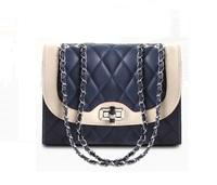 New arrive women shoulder bag PU leather classic diamond-shaped style messenger chain bag