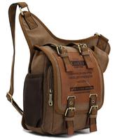 High quality 2015 new men's travel bag brand bag men messenger bag canvas vintage style bags messenger bag men's backpacks BK295
