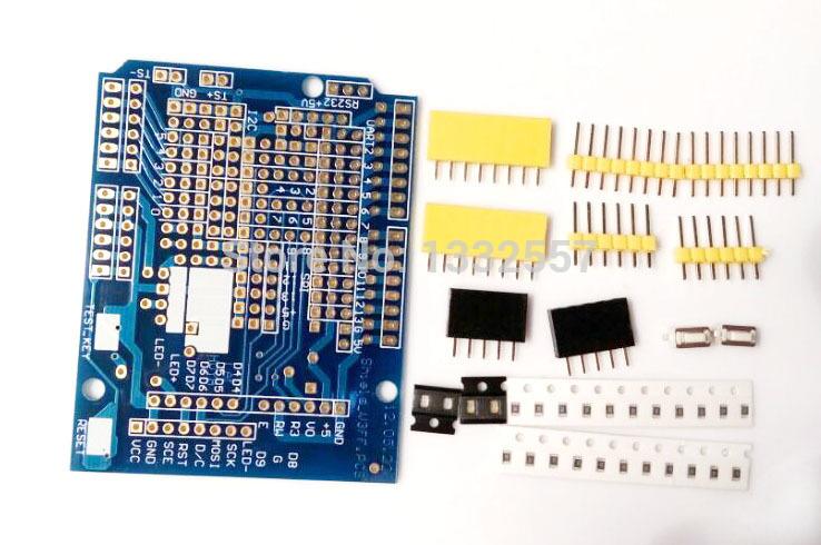 Amazoncom: Adafruit Proto Shield for Arduino Kit