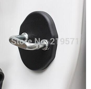 2013 Mitsubishi Outlander door lock cover door cover lock catch protect car interior accessories 4pcs(China (Mainland))