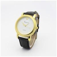Fashion New Promotion Clock Hour Analog Leather Quartz Watch Fashion Men Wristwatches reloj mujer  relogio
