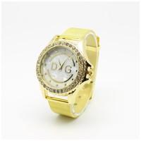 2015 Fashion Women Dress Golden Watches Brand Watch Bracelet rhinestone watches quartz Women Wristwatches