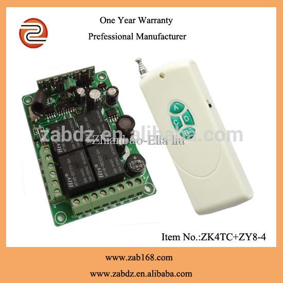 High Quality 433mhz 12V 4CH wireless remote control fireworks firing system(China (Mainland))