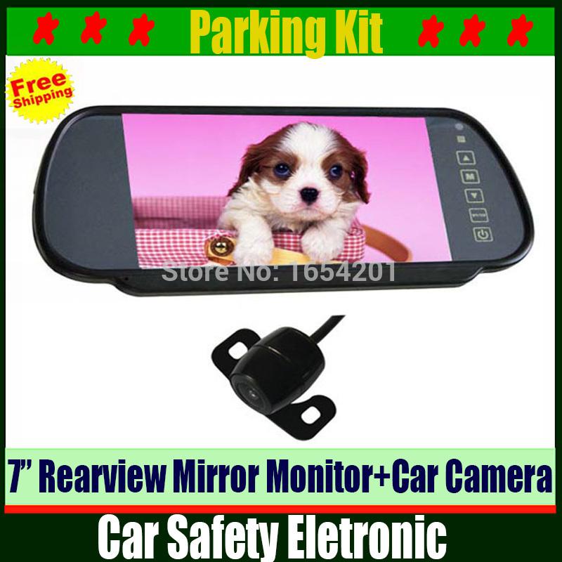 Автомобильный монитор 7/tft lcd HD CCD автомобильный монитор 5 480 272 hd tft