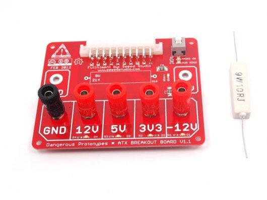 DIY MAKER MODULE ATX breakout board bench power supply(China (Mainland))