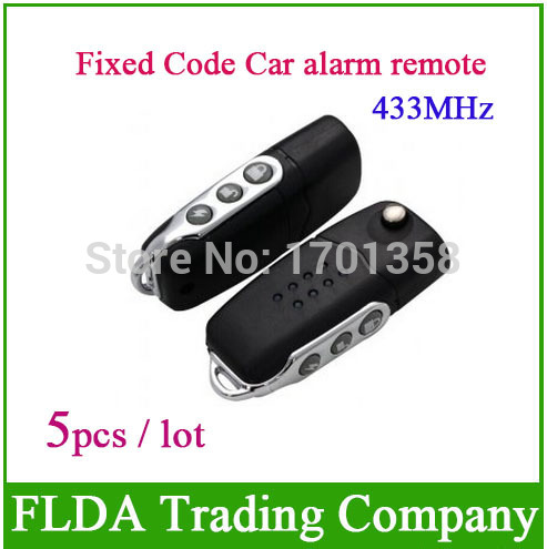 Freeshipping Fixed Code Car alarm remote 315mhz 433mhz Self-Learing remote 3rd Generation fixed frequency remote control(China (Mainland))