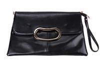 New arrive fashion women clutch PU leather European Style vintage clutch bag one shoulder chain bag