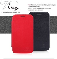 Nillkin Brand Victory Series pu Leather Case For Blackberry Classic Q20, 3 color, with retail packaging