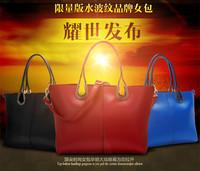2015 autumn and winter individuality brief solid color shoulder bag multicolor handbag women's handbag W149