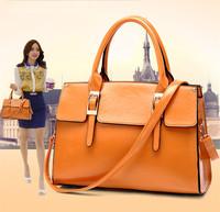 2015 new tide female inclined shoulder bag handbag euramerican fashion women's bag women's shoulder bag bucket bag W154
