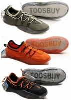 2015 summer men's fashion casual lace-up male's outdoor shoes cool breathable shoe lazy people upstream shoes black grey orange