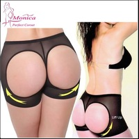 100pcs/lot Factory price, Women Butt Lifter Shaper Panties Sexy Booty Lift Butt Enhancer Panty Tummy Control , full Size S-XXXL
