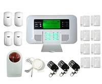 freeshipping DHL Wireless Wired GSM PSTN Intelligent Burglar Inturder Home Security Alarm System,Home Alarm System