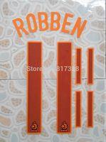 free shipping orange side Netherlands AWAY ROBBEN #11 name numbering individuation name numbering
