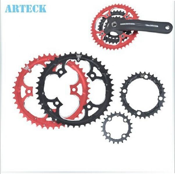 Звезда (системы) для велосипедов ARTECK 22 32 42 44 MTB 22T 32T 42T 44T fouriers 7075 oval single chain ring 38t 40t 42t 44t 46t 48t chainrings bcd 104mm narrow wide tooth mtb bike chainwheel crank