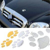 Hotsale Creative Cool 3D Car Truck Window Bumper Body Decal Sticker Bear Dog Animal Paw Foot Prints