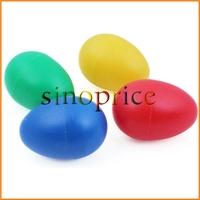 4pcs Plastic Percussion Musical Egg Maracas Rhythm Shakers Kids Toys Free Shipping