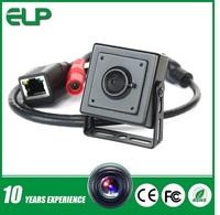 1.0megapixel  720p H.264 onvif pinhole lens hidden security mini camera ip hd  ELP-IP1891