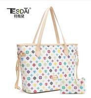 Free shipping 2014 women shoulder bags high quality fashion bags casual vintage printing bags designer handbags TDV004