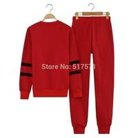 Women and men Tops+Pants Clothing Set Sweatshirt Sports Suits Fleece Sweatshirt Tracksuits