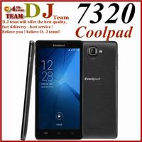 Original brand phone Coolpad 7320 8GB 5.5 inch 3G Android 4.3 Smart Phone MT6592 8 Core 1.7GHz RAM: 1GB Dual SIM WCDMA