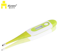 Alcoco soft baby thermometer soft baby child thermometer electronic thermometer