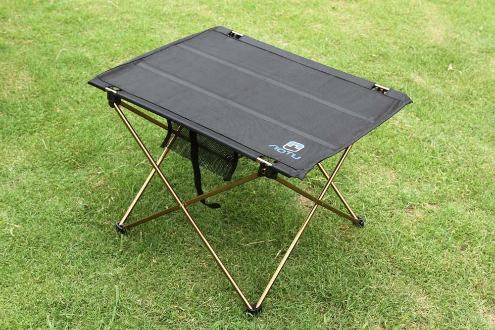 Ultra-light Waterproof Aluminium Alloy Folding Table Outdoor Camping Portable Picnic Desk Durable Foldable Tables AT6728 690g(China (Mainland))