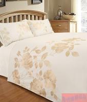 2015 new embroidery cotton 4pcs bedding sets  230x250cm sheet +200x230cm quilt cover + 2pcs pillowcase 50x75cm