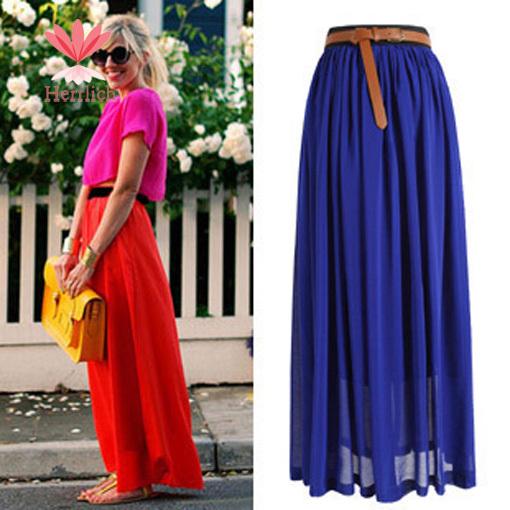 Женская юбка CTS FASHION 2015 Saias Longas D18586S6 D18581S6 женская одежда из меха cool fashion saias s xxxl tctim06270001