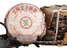Gemacht in1960raw pu er tee, 357g älteste puer tee, ansestor antiken, honig süßen,, langweilig- rot puerh tee, alte Baum kostenloserversand(China (Mainland))