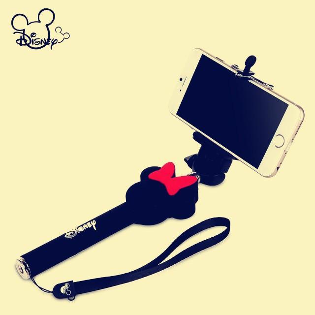 phone accessoire cartoon mickey extendable selfie stick monopod for iphone 5 5s minne mono pod. Black Bedroom Furniture Sets. Home Design Ideas