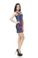 2015 new summer dress free size Fashion party Vest dress women fashion sexy sleeveless