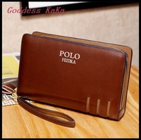 New Fashion Men Wallet Day Clutch Genuine Leather Famous brand purses carteira masculina Men Clutch BG004