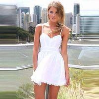 New Womens Summer Sexy Chiffon Party Evening Cocktail Short Mini Dress