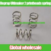 40pcs 3D printer Reprap Ultimaker 2 printheads spring / D2000 Reprap hot bed spring for 3D printer part 8.65*10.65*17.5mm