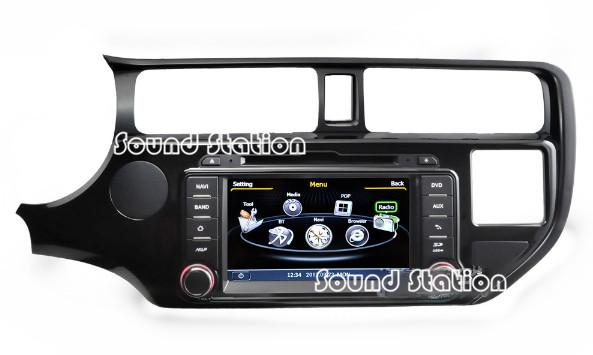 For Kia K3 2011 2012 Touch Screen Car DVD Radio GPS Navigation Autoradio Stereo Head Unit Media Center Audio Video Player(China (Mainland))