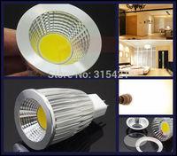 100Pcs/lot New Utra bright LED COB spotlight Bulb DC12V MR16 light 9W LED lamp Warm white/Cool white L28